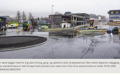 Receives 21 million in compensation because Bybanen said no to construction – BA.no